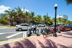 MIAMI - 23. AUGUST 2014: traditioneller Parkoffizier Car Stockbilder