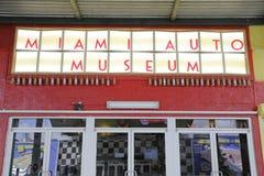 Miami-Auto-Museum lizenzfreie stockfotografie