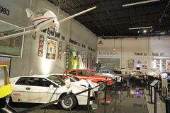 Miami Auto Museum at the Dezer Collection of automobiles and related memorabilia. MIAMI, FL, USA - APRIL 28, 2017: Stock photo of the Miami Auto Museum at the Stock Photography