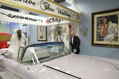 Miami Auto Museum at the Dezer Collection of automobiles and related memorabilia. MIAMI, FL, USA - APRIL 28, 2017: Stock photo of the Miami Auto Museum at the Royalty Free Stock Images
