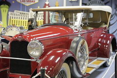 Miami Auto Museum at the Dezer Collection of automobiles and related memorabilia. MIAMI, FL, USA - APRIL 28, 2017: Stock photo of the Miami Auto Museum at the Royalty Free Stock Photography