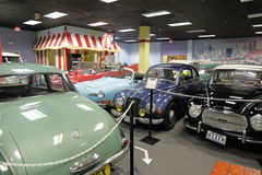 Miami Auto Museum at the Dezer Collection of automobiles and related memorabilia. MIAMI, FL, USA - MAY 3, 2017: Stock photo of the Miami Auto Museum at the Dezer Royalty Free Stock Photos
