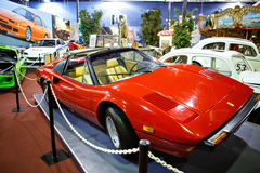 Miami Auto Museum exhibits a collection of vintage and cinema au Royalty Free Stock Images