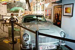 Miami Auto Museum exhibits a collection of vintage and cinema au Royalty Free Stock Image