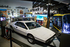 Miami Auto Museum exhibits a collection of vintage and cinema au Royalty Free Stock Photo
