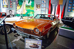 Miami Auto Museum exhibits a collection of vintage and cinema au Royalty Free Stock Photos