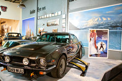 Miami Auto Museum exhibits a collection of vintage and cinema au Stock Photo