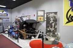 Miami Auto muzeum przy Dezer kolekcją samochody i powiązane pamiątki Obrazy Stock