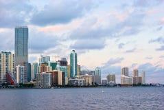 Miami Bayfront Stock Image