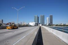 Miami Bayside Bridge Stock Image