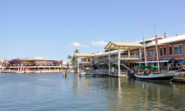 Miami Bayside Marketplace. Image of part of the Miami Bayside Marketplace stock image