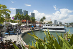 Miami Bayside Marketplace Royalty Free Stock Images