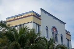 Miami Beach, район стиля Арт Деко, Флорида, США Стоковые Изображения