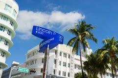 Miami Beach stockbilder