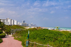 Miami Beach Fotografering för Bildbyråer