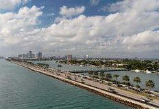 Miami Beach. Panorama of Miami Beach / Florida Royalty Free Stock Images