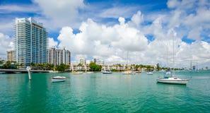 Miami Beach fotografia de stock