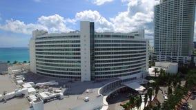 Miami Beach aérien Fontainebleau