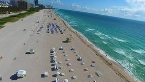 Miami Beach aerial video 4k fpv mode. Aerial Miami Beach drone video 4k stock video