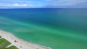 Miami Beach-Antennenbrummen stock footage