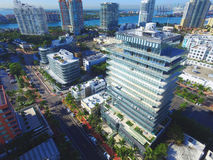 Miami Beach ao sul da 5a rua fotografia de stock