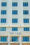 Miami Beach Art Deco stockbilder
