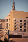 Miami Beach art deco architecture Stock Image