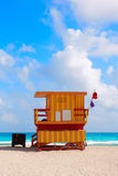 Miami beach baywatch tower South beach Florida Stock Images