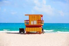 Miami beach baywatch tower South beach Florida Stock Photos