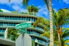Miami Beach beauty Royalty Free Stock Photography