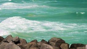 Miami Beach bewegt Video wellenartig