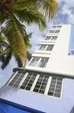 Miami Beach Boutique Hotel Royalty Free Stock Photography