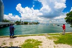 Miami Beach Cityscape Stock Photo