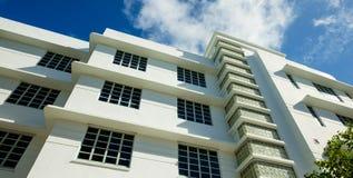 Miami Beach. Classic art deco architecture in Miami Beach Stock Photos