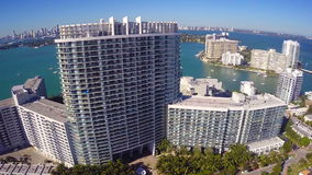Miami Beach condo stock footage