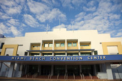 Miami Beach Covention Center Royalty Free Stock Images