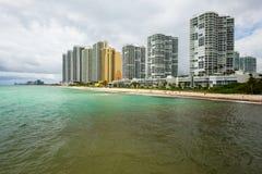 Miami Beach del norte Foto de archivo libre de regalías