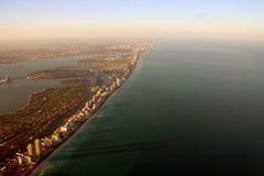 Opinión aérea de Miami Fotografía de archivo