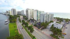 Miami Beach der Antennen-4k stock footage