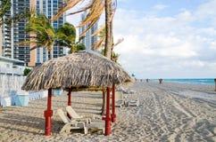 Miami Beach di mattina Immagine Stock