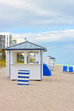 Miami Beach in the early morning. Royalty Free Stock Photography