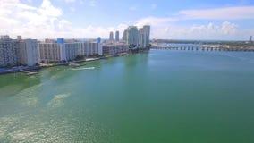 Miami Beach-Eigentumswohnung stock footage