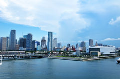 Miami Beach en Floride Miami, la Floride, côtière, côte, île, loisirs, appartements, tropicaux, voyage, bord de mer, destinations Photographie stock libre de droits