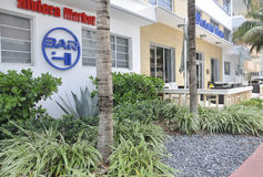 Miami Beach FL,August 09th: Cityscape of Miami Beach in Florida Stock Photography