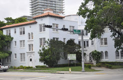 Miami Beach FL,August 09th:Historic Building from Miami Beach in Florida Stock Photos
