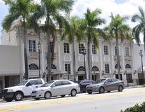 Miami Beach FL, August 09th:Historic Building from Miami Beach in Florida Stock Photo
