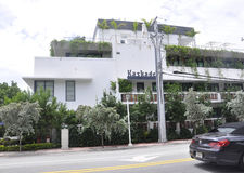 Miami Beach FL,August 09th: Historic Building from Miami Beach in Florida Stock Photo