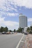Miami Beach FL,August 09th: Skyscrapers in Miami Beach from Florida Stock Image