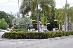Miami Beach FL, el 9 de agosto: Parque céntrico de Miami Beach en la Florida los E.E.U.U. Imagen de archivo libre de regalías