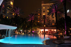 MIAMI BEACH, FL - JULY 18: A general view of atmosphere at the Mercedes-Benz Fashion Week Swim 2014 Stock Images
